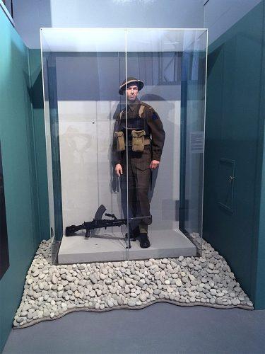set design military museum